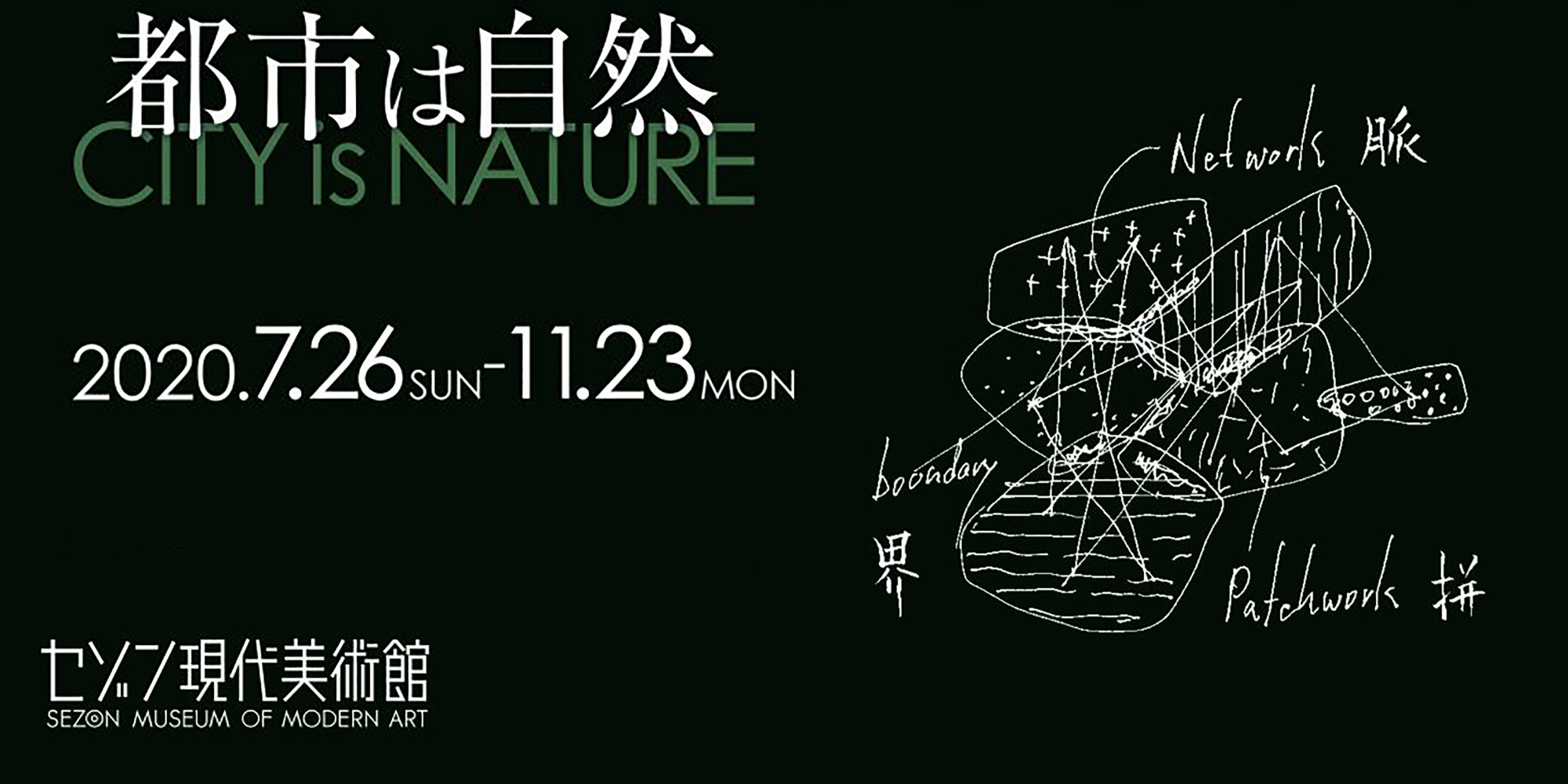 磯村暖出展「都市は自然」セゾン現代美術館